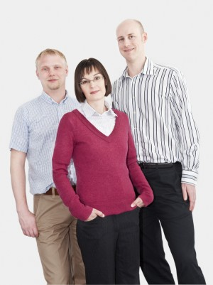 49lights: Mattias, Jenny och Peter