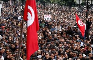 Det var i Tunisien den arabiska våren började.